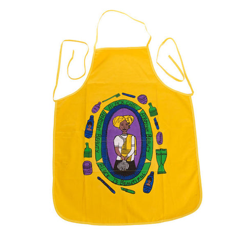 yellow apron for sale online