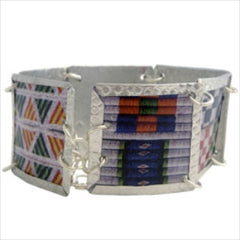 Mixed Beadwork Images Bracelet by Beverly Price