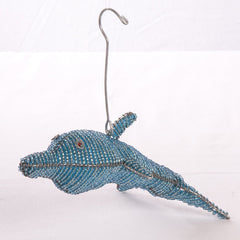 Beaded Dolphin Ornament