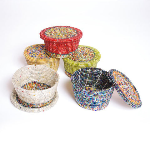 Beaded Jewelry Box