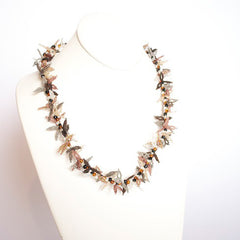 Beaded Spikey Necklace