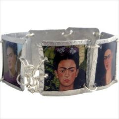 Frida Kahlo Bracelet by Beverly Price