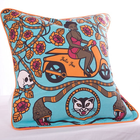 Julie Juu Cotton Cushion Cover