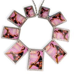 Lady in Hotpants Image Necklace
