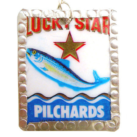 Lucky Star Image Earrings by Beverly Price