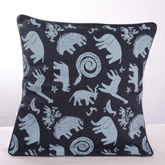 Nature Print Cushion Cover