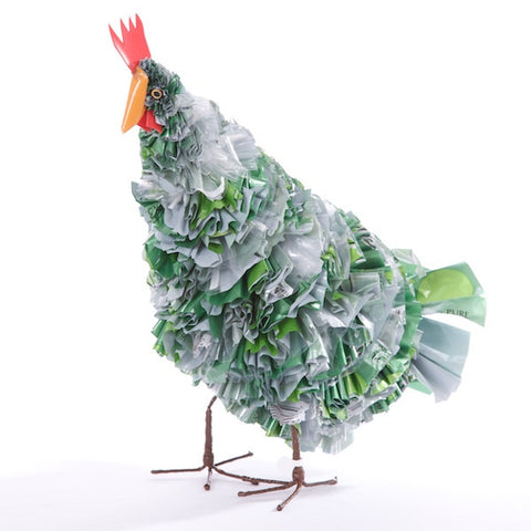 Recycled Plastic Rooster