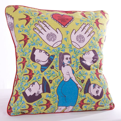 Rosemary Cotton Cushion Cover