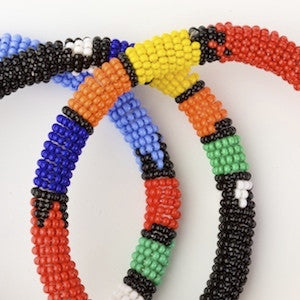 Beaded Zulu Round Bangle