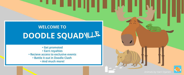 Top Reasons Why You Should Join The DoodleSquad