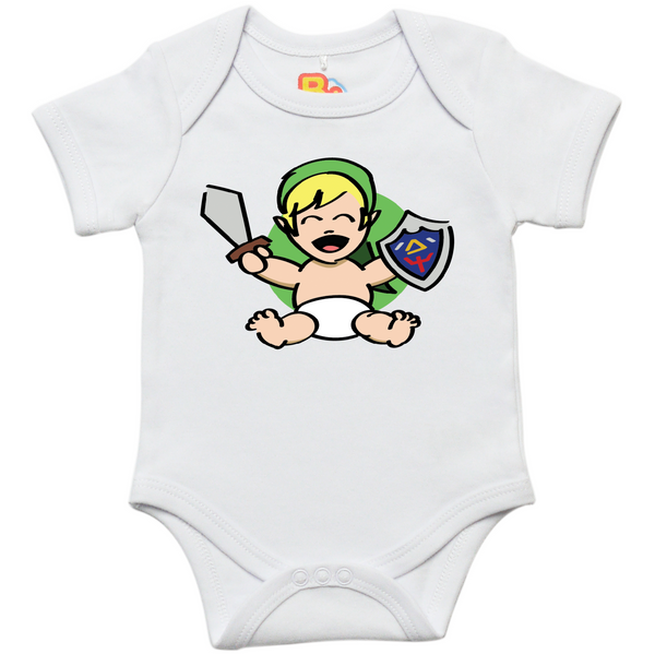 Baby Elf Warrior Onesie