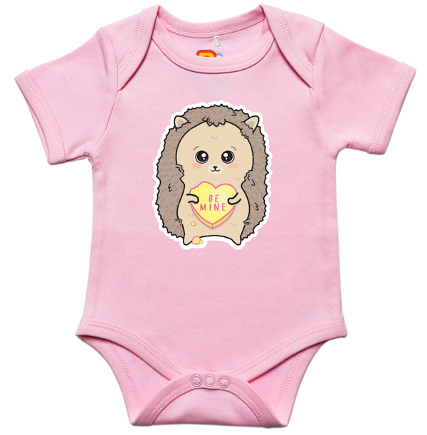 Be Mine Hedgehog Onesie