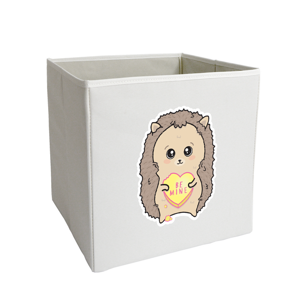 Be Mine Hedgehog Storage Bin