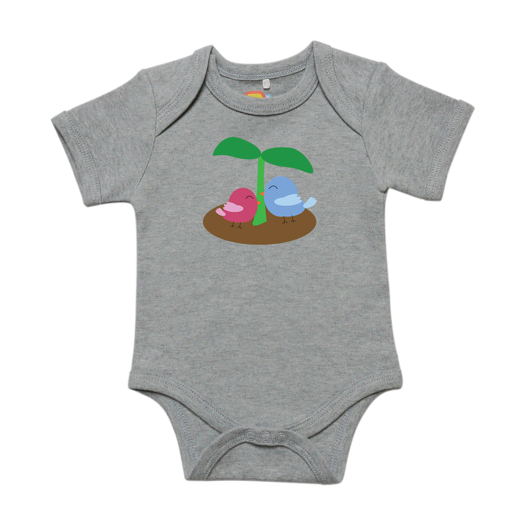 Bird Sprout Baby Bodysuit