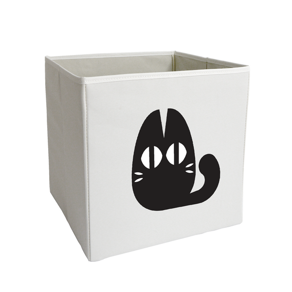 Black Cat Storage Bin