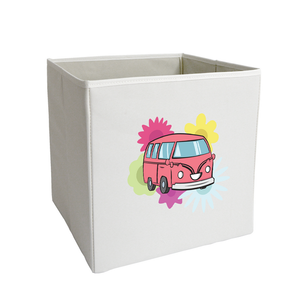 Blossom the Bumpy Bus loves Flowers Storage Bin