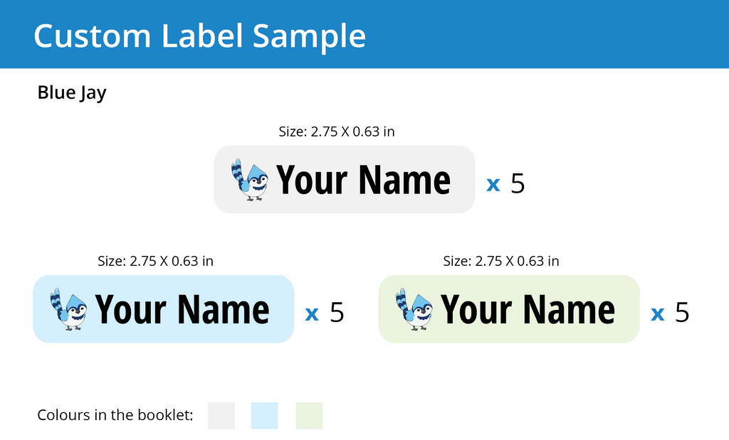 Multi-purpose Name Labels