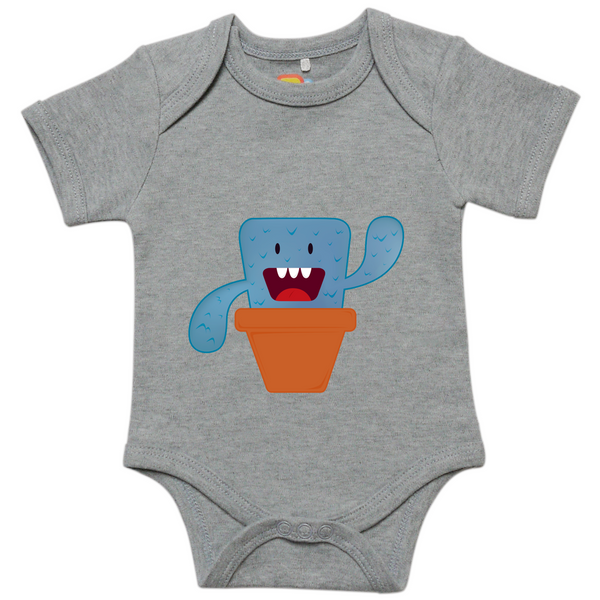 Blue Sprouting Monster Onesie