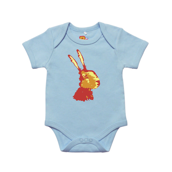 Contemporary Rabbit Baby Bodysuit
