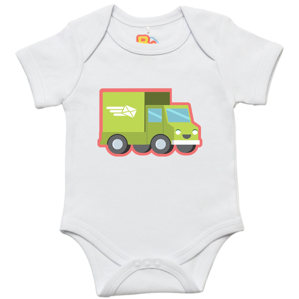 Delivery Truck Baby Bodysuit