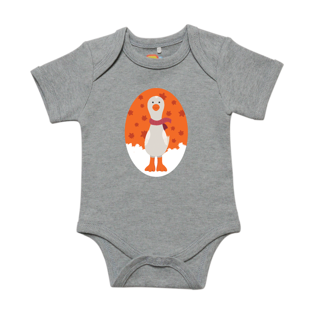 Gertie in the Fall Baby Bodysuit
