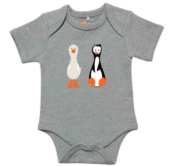 Gertie and Portia Onesie