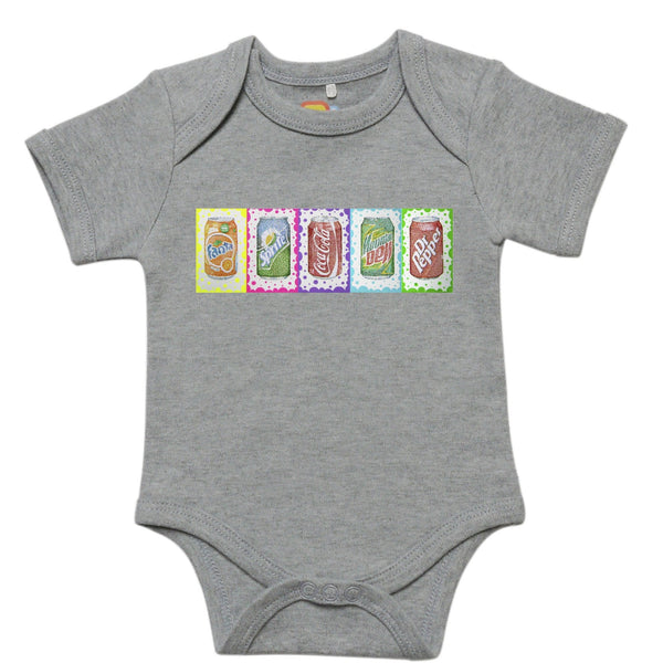Pop Art Onesie Baby Bodysuit