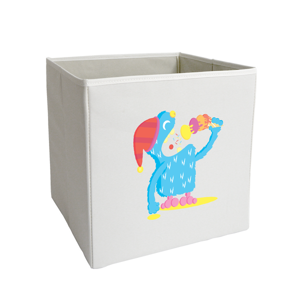 Ice Cream Yeti Storage Bin