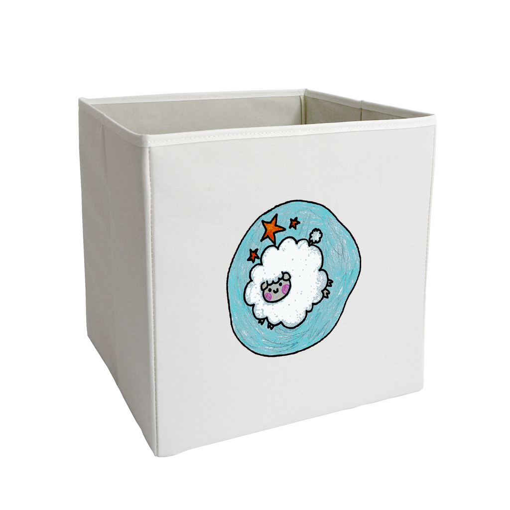 Leaping Sheep Storage Bin