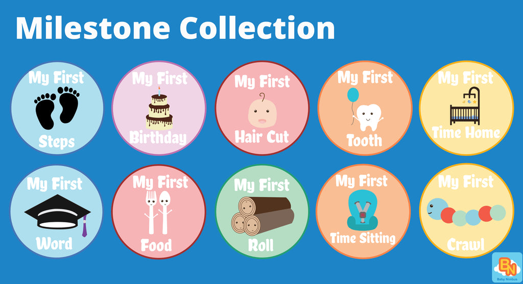 #TummyTag Stickers Milestone Collection