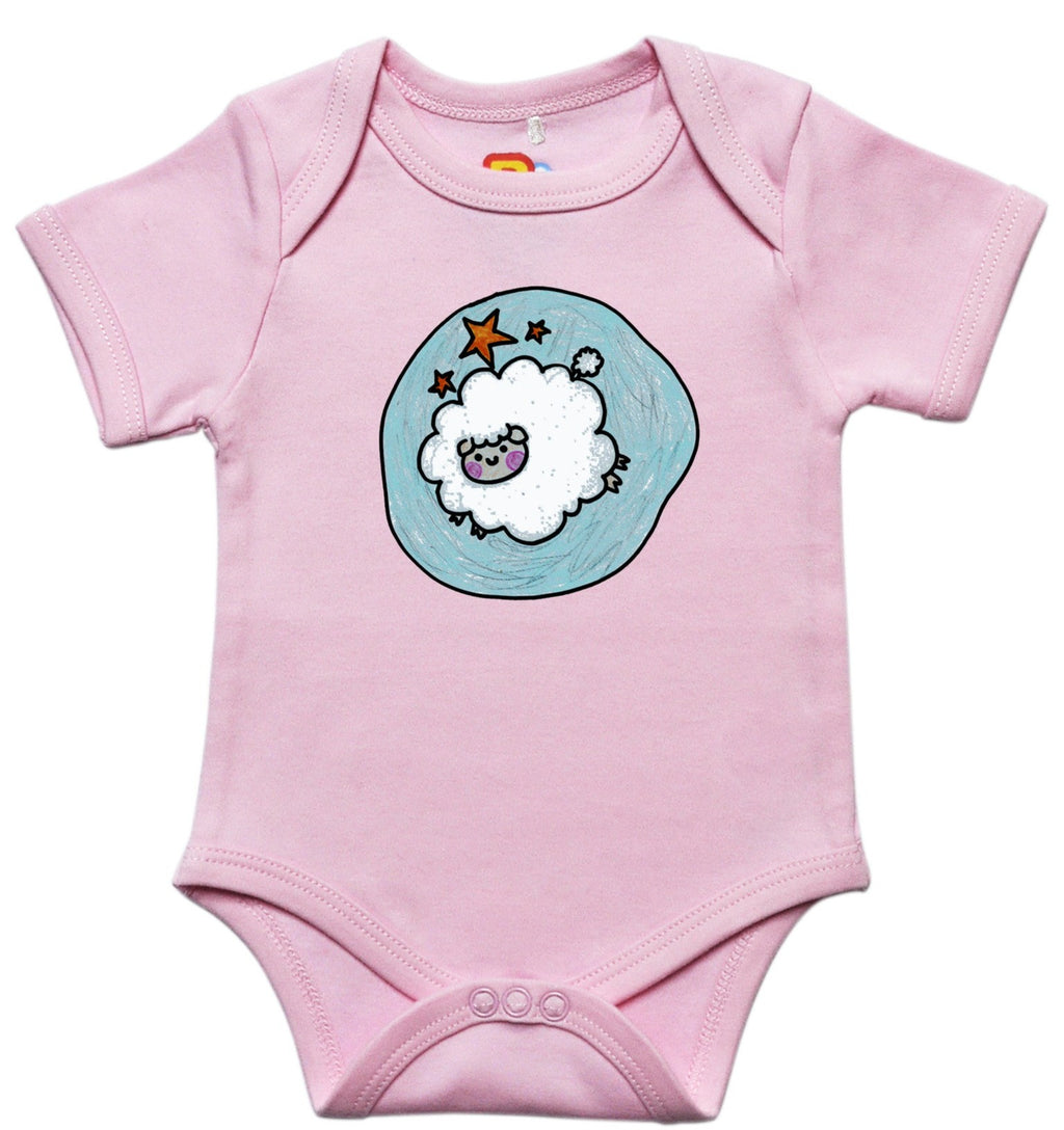 Leaping Sheep Baby Bodysuit