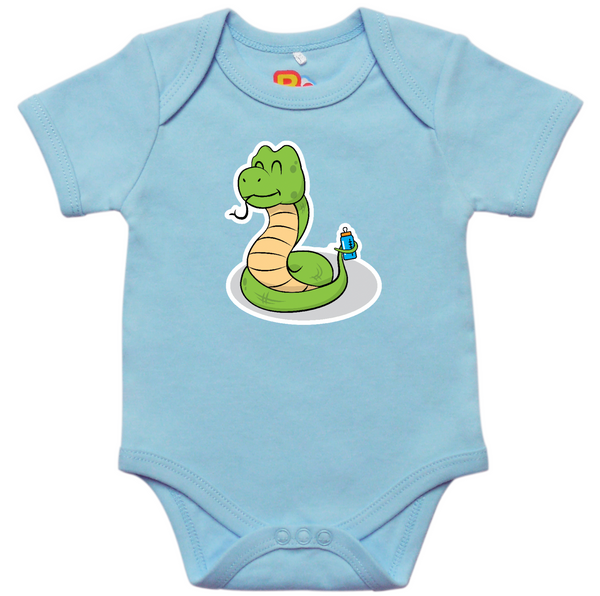 Baby Bottle Snake Onesie