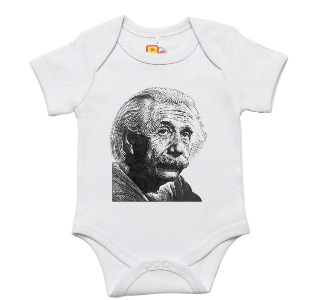 Albert Einstein Baby Bodysuit