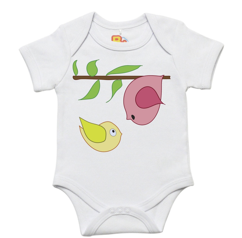 Bird Perch Baby Bodysuit