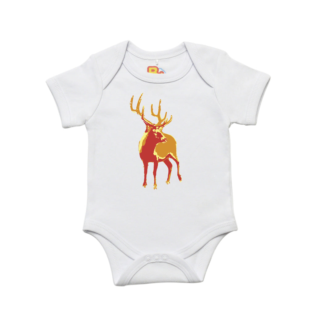 Contemporary Deer Baby Bodysuit
