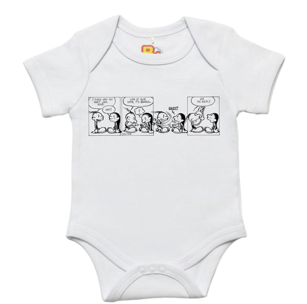 Koo and Boo Comic Strip 10 Baby Bodysuit