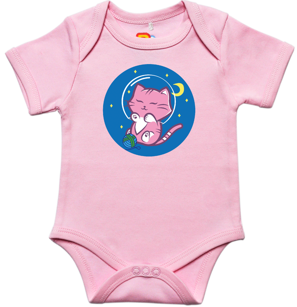 Space Cat Baby Bodysuit