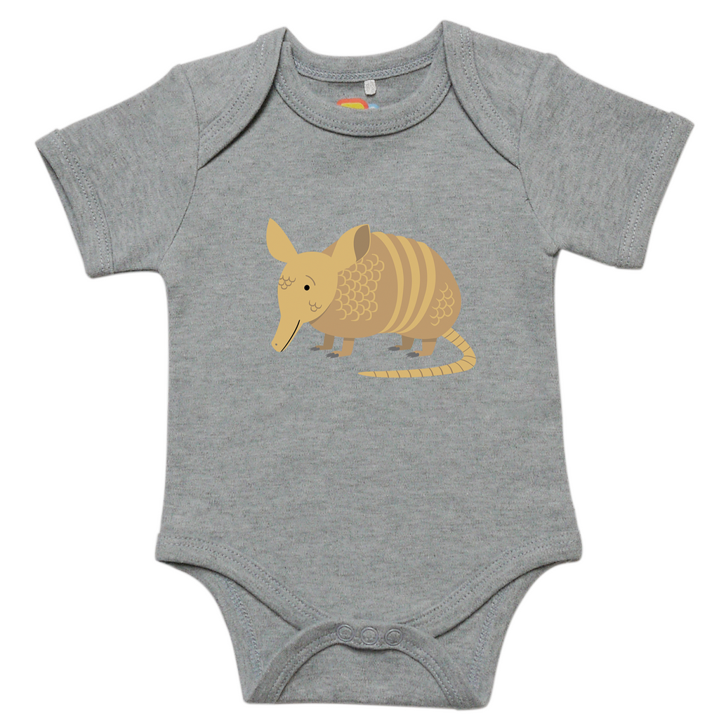 A is for Armadillo Baby Bodysuit