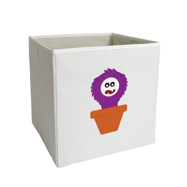 Purple Sprouting Monster Storage Bin