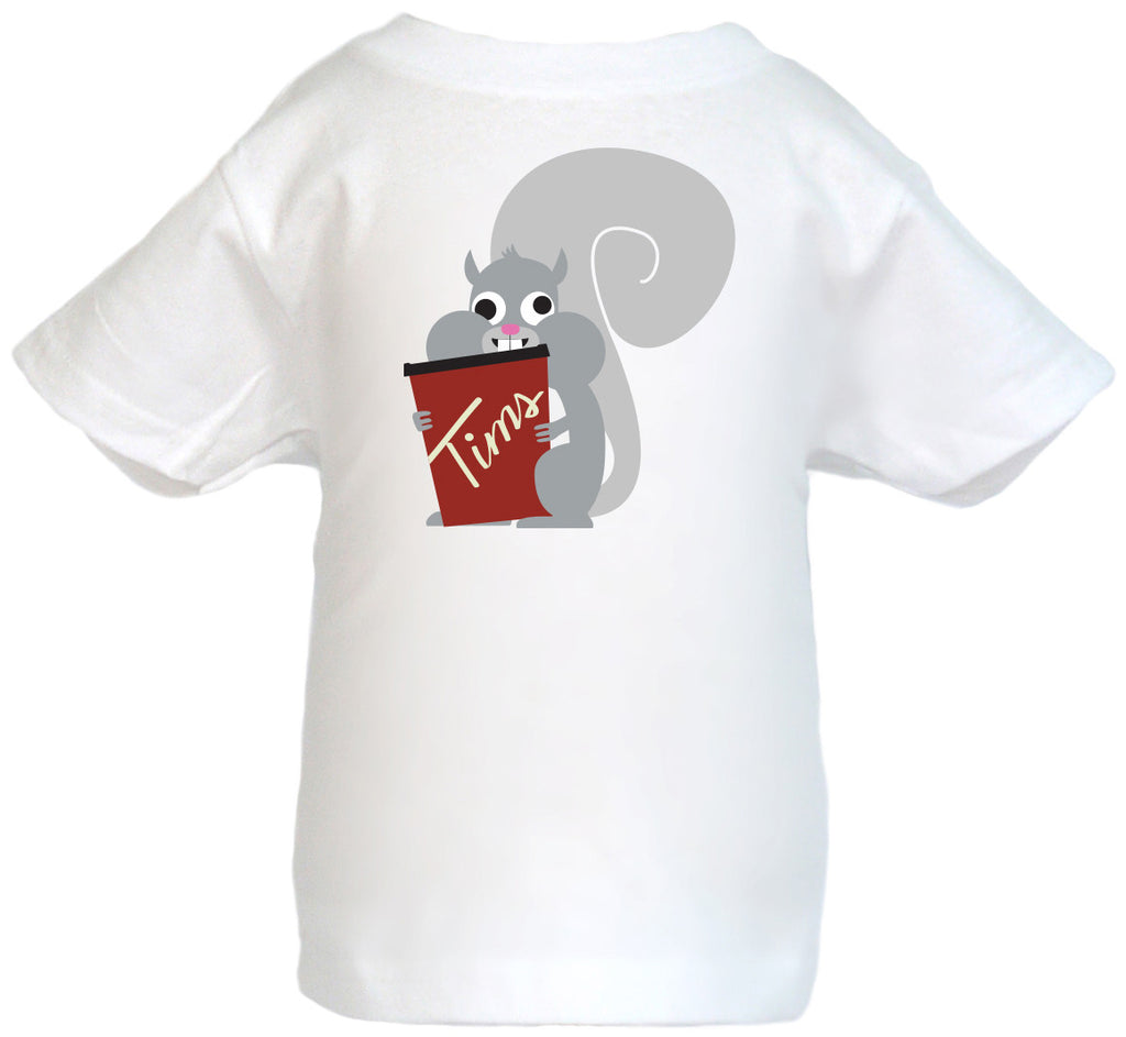 Fully Caffeinated Squirrel T-Shirt