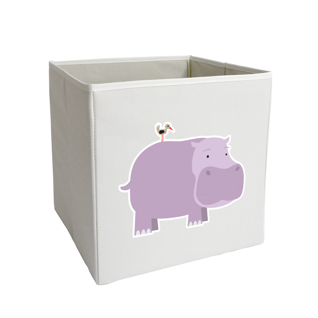 Hippo and Friend Storage Bin