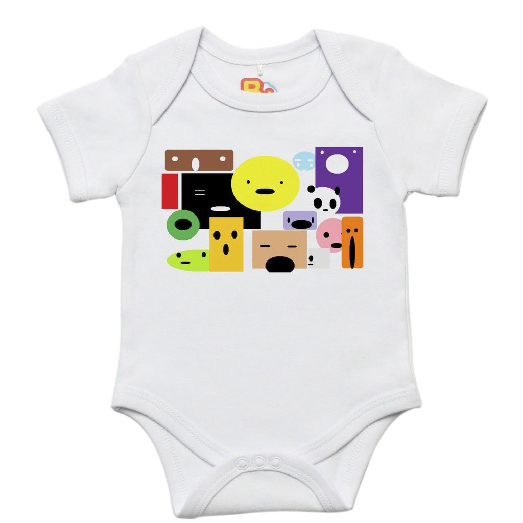 Faces Onesie