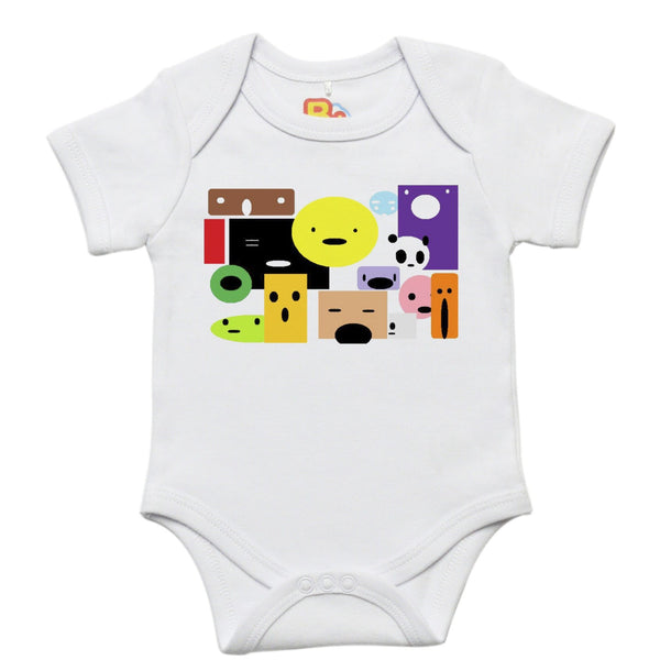 Faces Baby Bodysuit