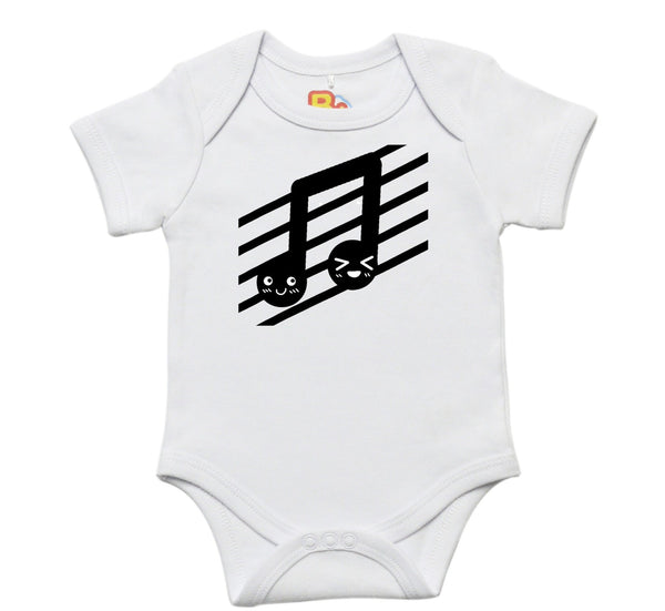 Music Note Baby Bodysuit