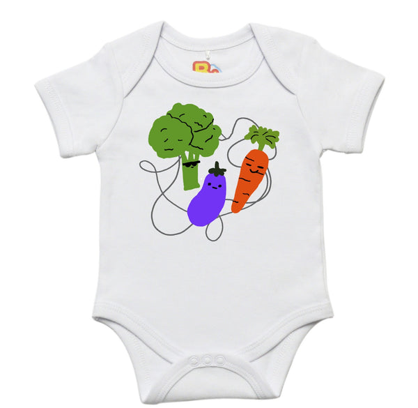 Vegetables Baby Bodysuit