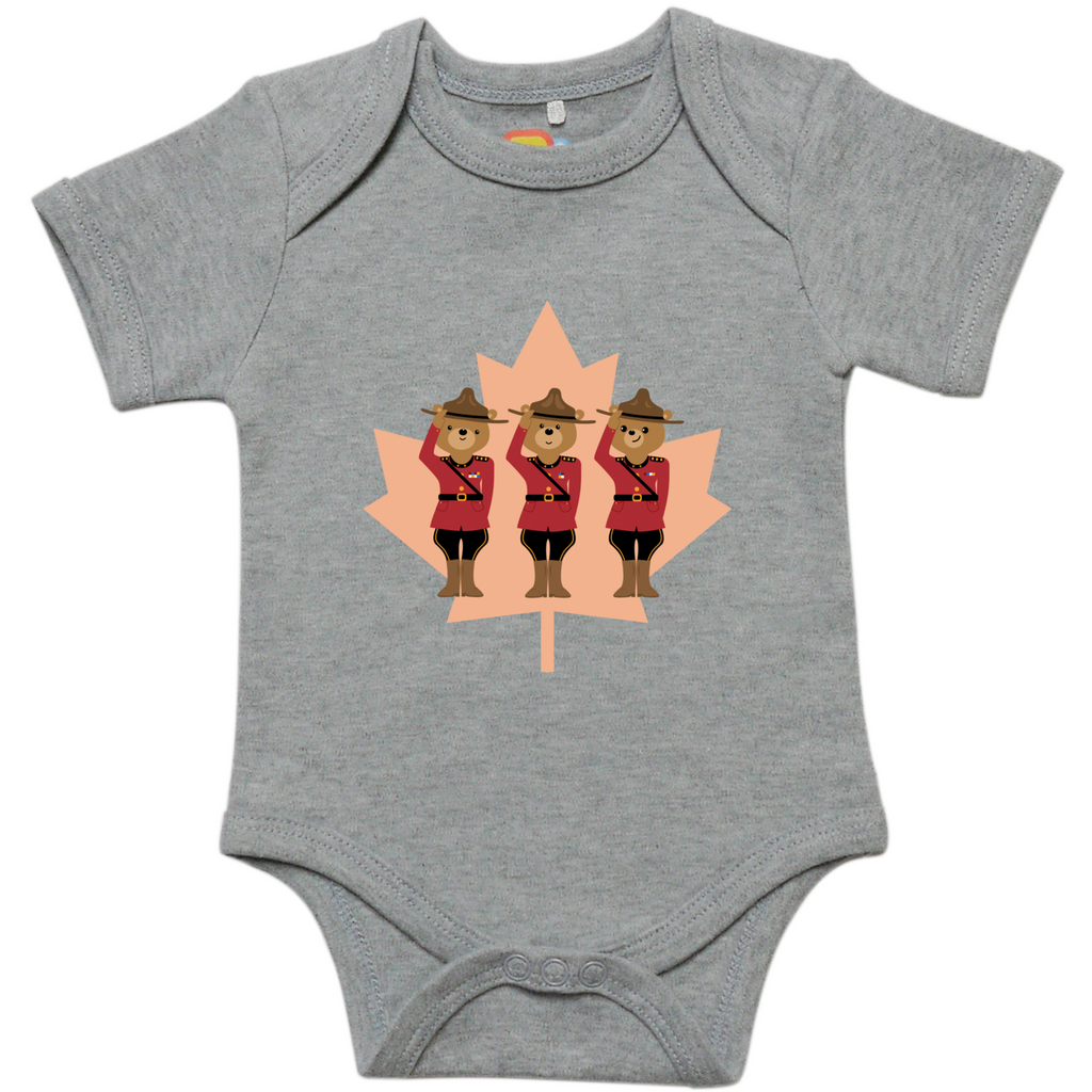 Mountie Bears Onesie