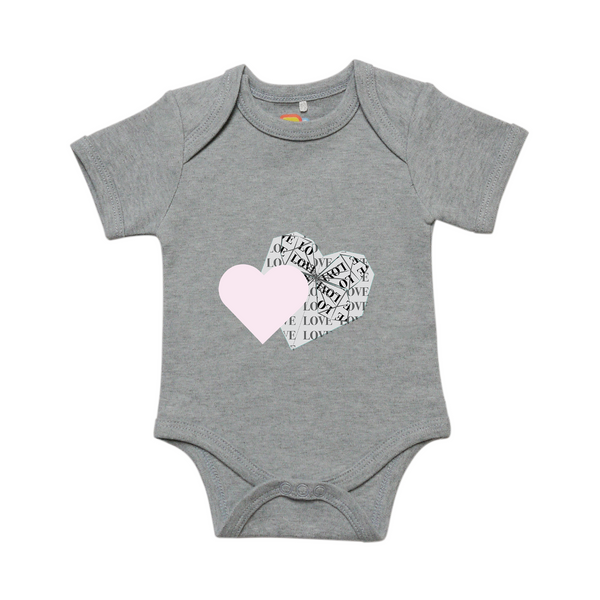 Overlapping Hearts Onesie
