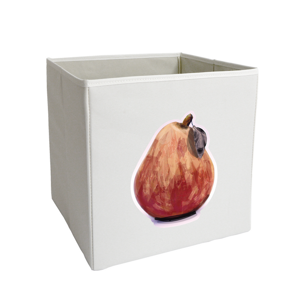 Stylized Pear Storage Bin