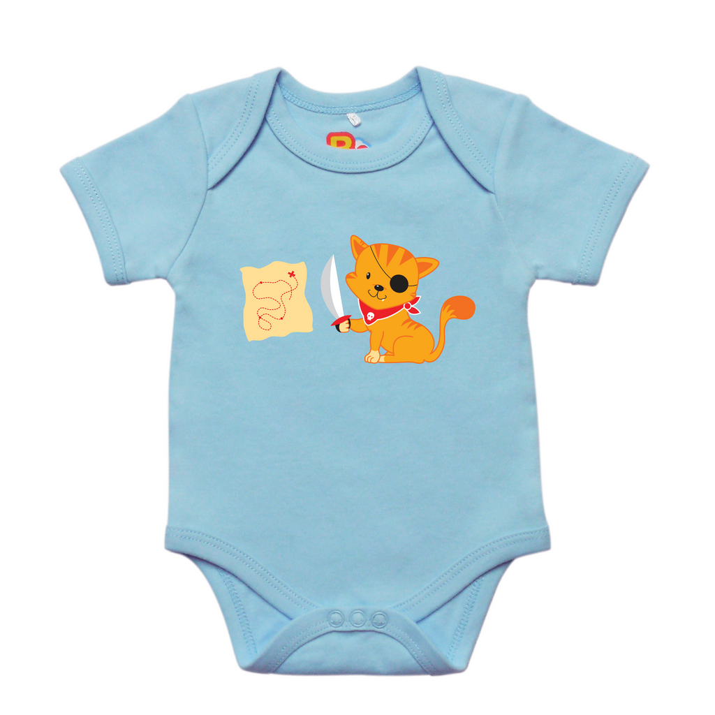 Pirate Kitten Baby Bodysuit