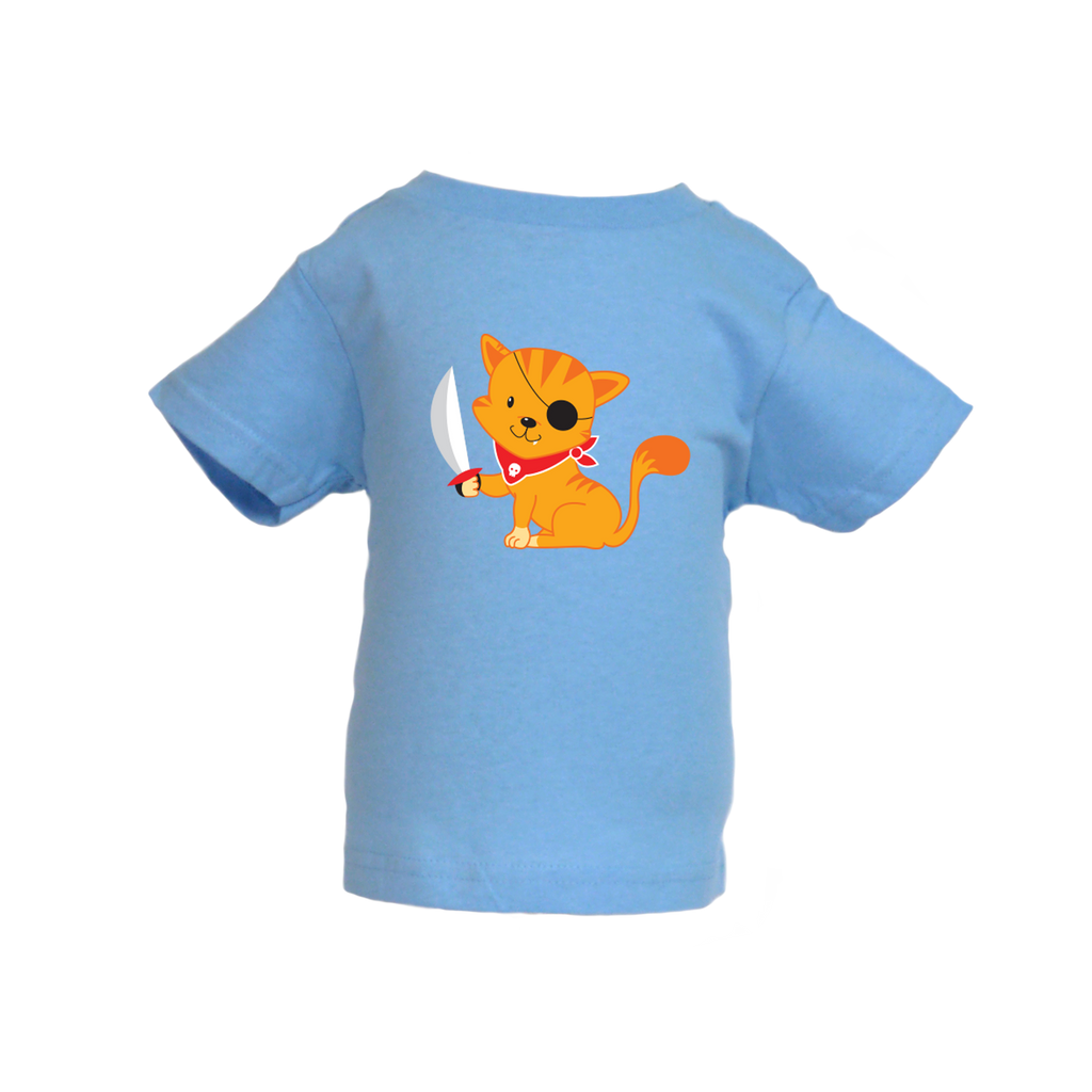Pirate Kitten T-shirt